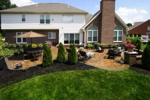 Patio Hardscape Design in Mason, Ohio